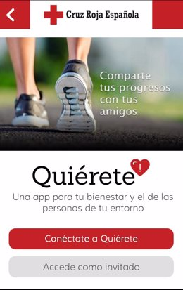 App Cruz Roja