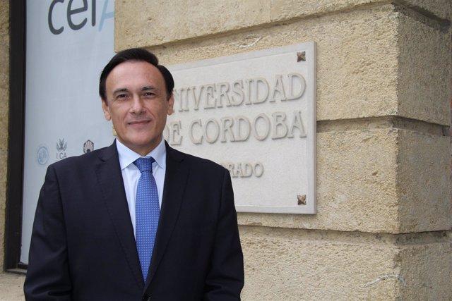 El actual rector de la UCO, José Carlos Gómez Villamandos