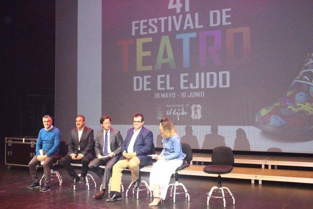 Presentación del 41º Festival de Teatro de El Ejido