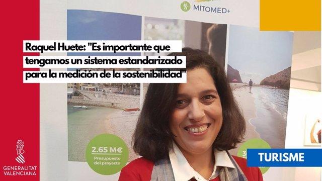La directora general de Turismo, Raquel Huete