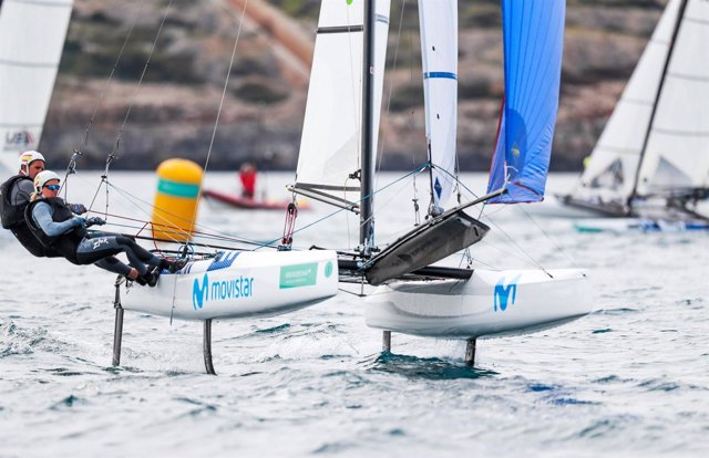 Fernando Echávarri y Tara Pacheco en el Trofeo Iberostar Sofía