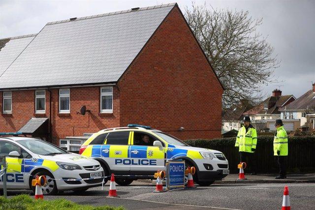 Vigilancia policial en Salisbury por el ataque contra Sergei Skripal