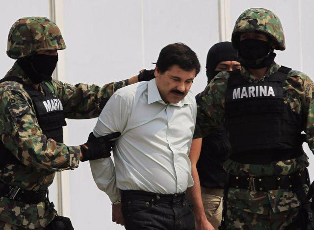 El líder del cartel de Sinaloa, Joaquín 'El Chapo' Guzmán.