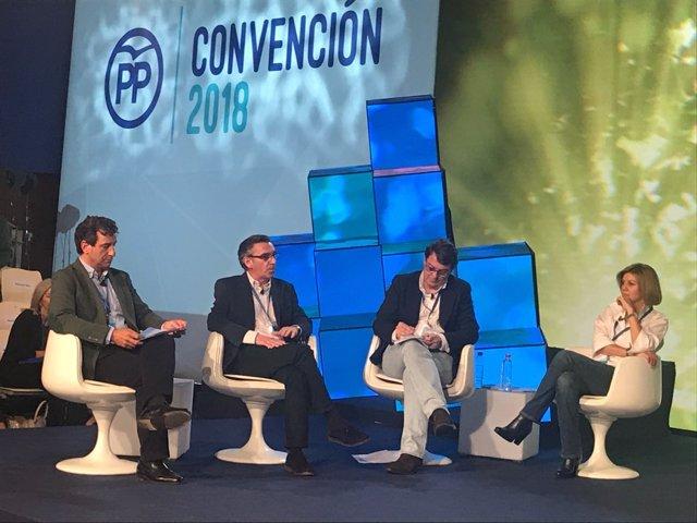 Beamonte ha intervenido en la Convención Nacional del PP.