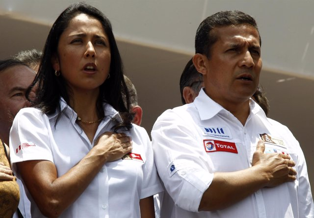 Ollanta Humala Nadine Heredia