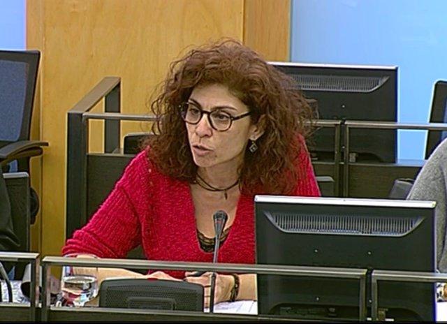 Rosana Alonso, diputada de Podemos por Cantabria, en el Congreso