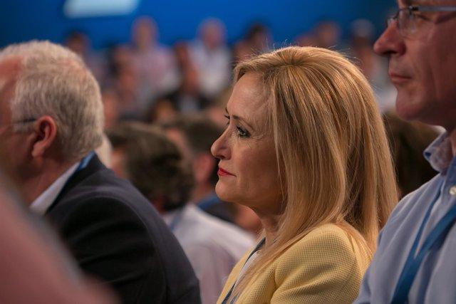 Cristina Cifuentes en la Convención del PP