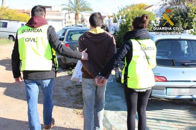 Detenido en Torrevieja por corrupción de menores