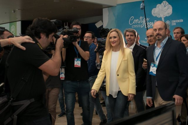 Cristina Cifuentes, en la Convención del PP