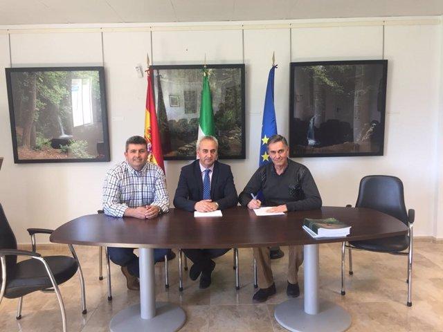 Diputación de Córdoba concluye obras en La Guijarrosa