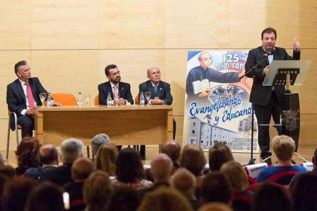 Fernández Vara en el acto celebrado en Don Benito