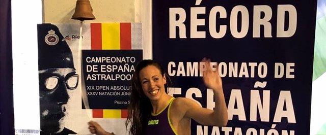 Jessica Vall récord 50 braza