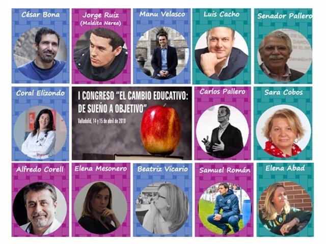 Cartel del I Congreso de Cambio Educativo