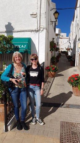 Ganadores de un concurso de fotografía en Holanda visitan Almería