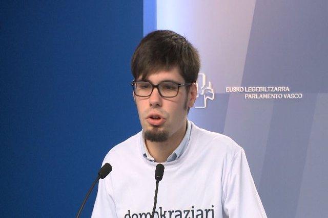 Lander Martínez, Podemos