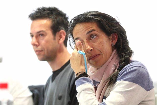 Rueda de prensa de Ángel y Patricia, padres de Gabriel Cruz