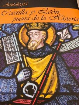 Portada de la antología 'Castilla y León, puerta de la Historia',de MAR Editor
