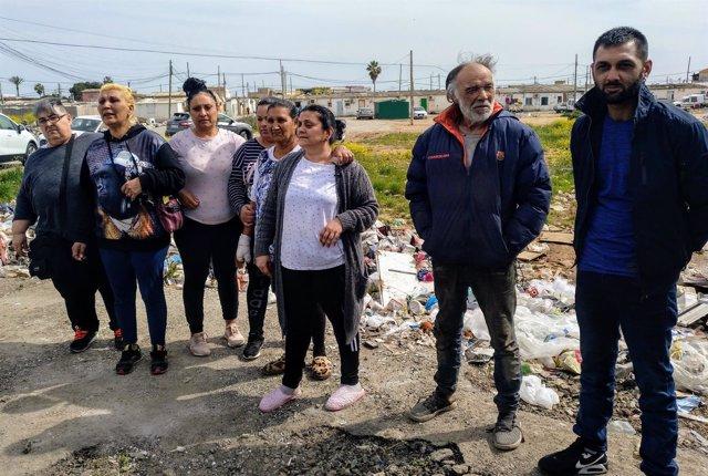 Familias de Son Banya censuran el desalojo del poblado