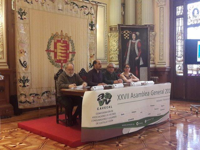 Valladolid (07-04-2018).- Asamblea Cavecal