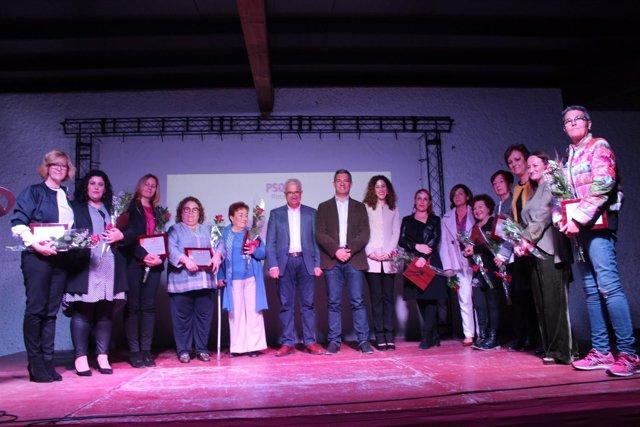 Homenaje a mujeres en Rota (Cádiz)