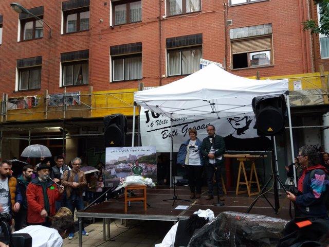 Homenaje en Bilbao a Iñigo Cabacas