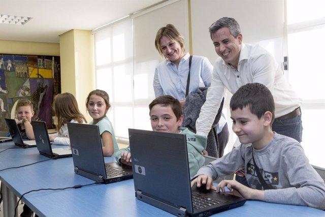 Inicio del Ciclo de Tecnlogía para niños en Camargo