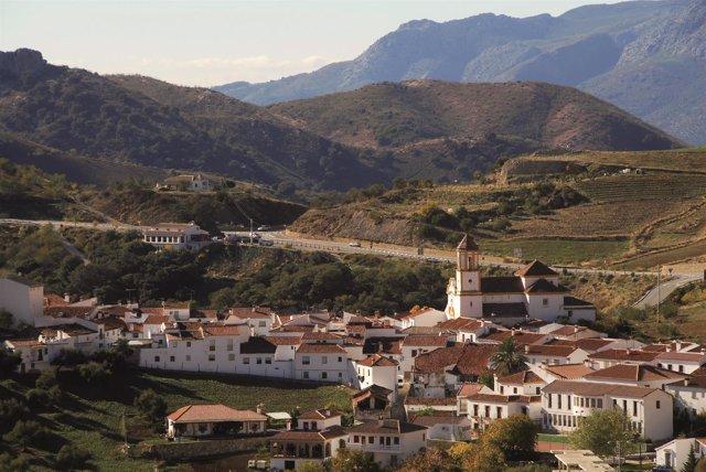 Atajate vista paisaje pueblo municipio