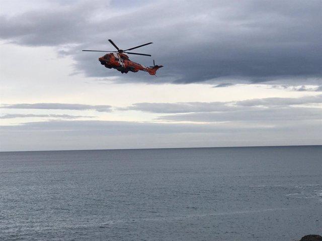 Dispositivo de búsqueda de Salvamento en A Coruña