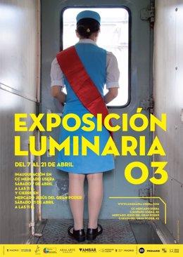 Cártel de la exposición 'Luminaria 03'