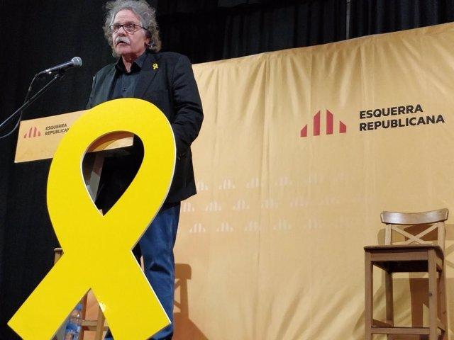 Joan Tardà en Vinaròs (Castellón)