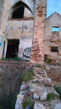 Trapiche del Prado grafiti Marbella