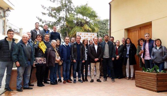 Comité Intercomarcal en el Alto Aragón.