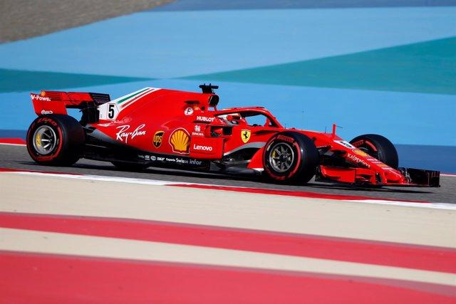 Sebastian Vettel Baréin
