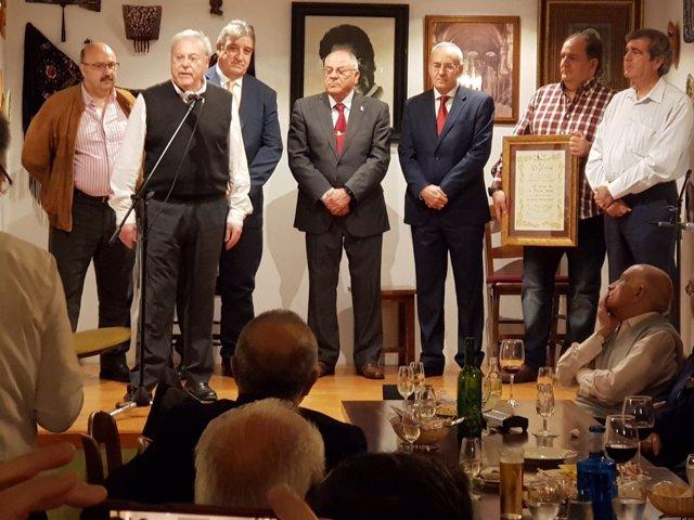 Entrega de reconocimiento a la Policía Local de Córdoba