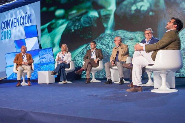 Debate en la Convención Nacional del PP