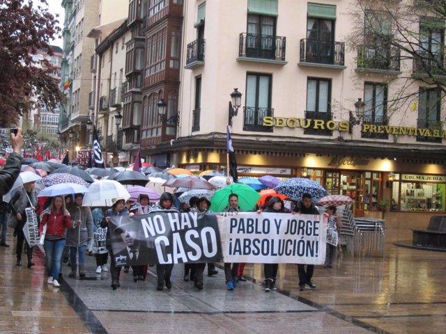 JORGE Y PABLO, CONCENTRACIÓN APOYO