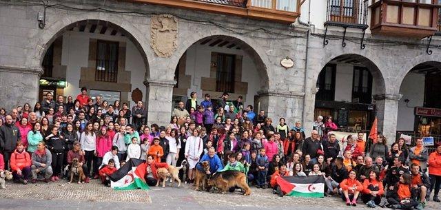 Ruta solidaria en favor de los niños saharauis en Castro Urdiales