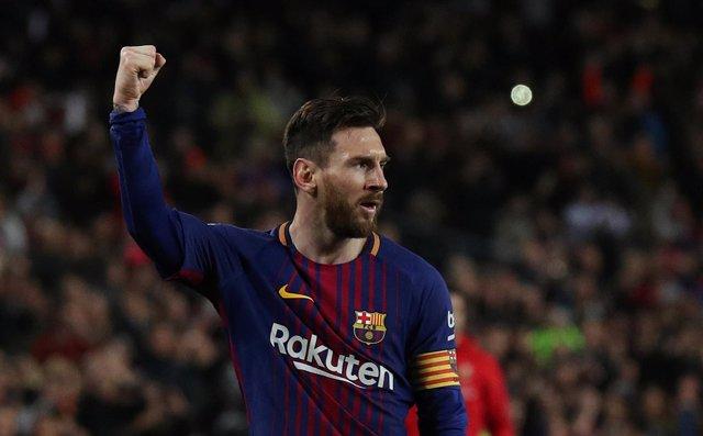 FC Barcelona - CD Leganés, Leo Messi