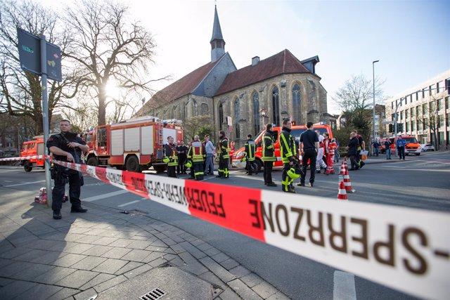 Policía en Münster