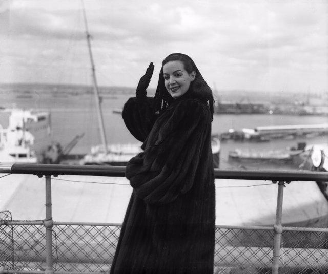 La maravillosa actriz María Félix
