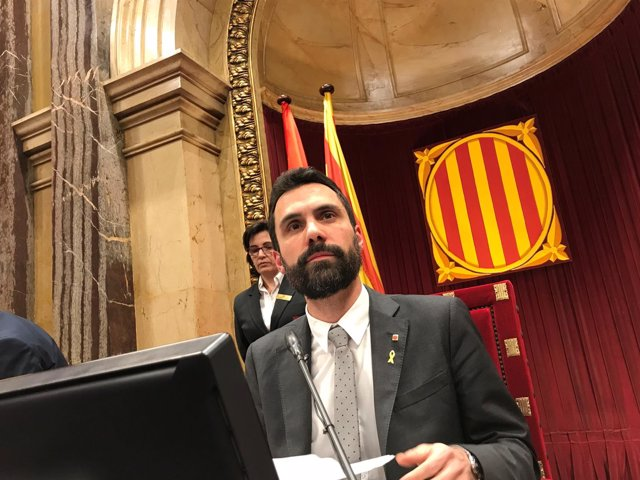 El presidente del Parlament, Roger Torrent/ARCHIVO