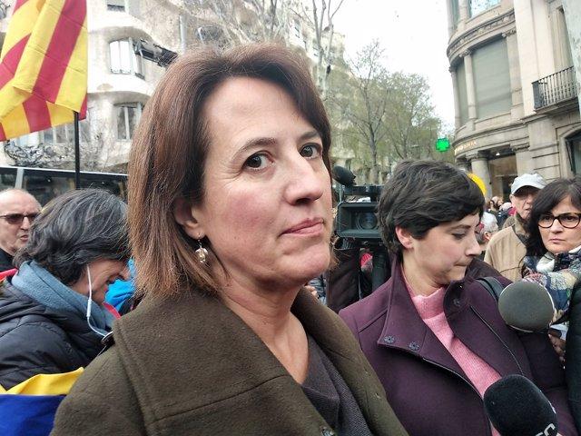 Elisenda Paluzie (ANC)/ARCHIVO