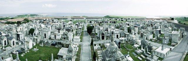 Cementerio de Ciriego, en Santander. Camposanto. Todos los Santos