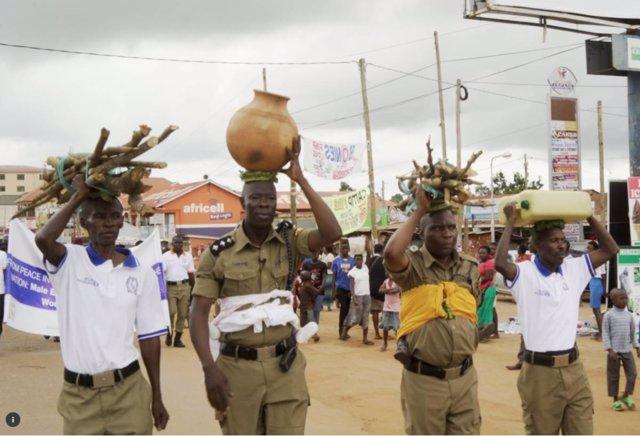 Policías de Uganda