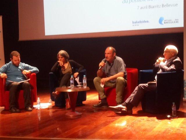 Txetx Etcheverry en el Forum de Biarritz este pasado sábado