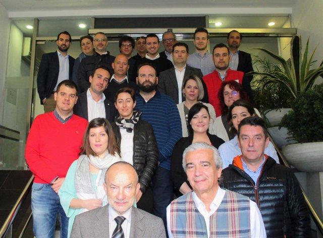 Participantes en el Programa de Franquicias del Gobierno de Aragón.
