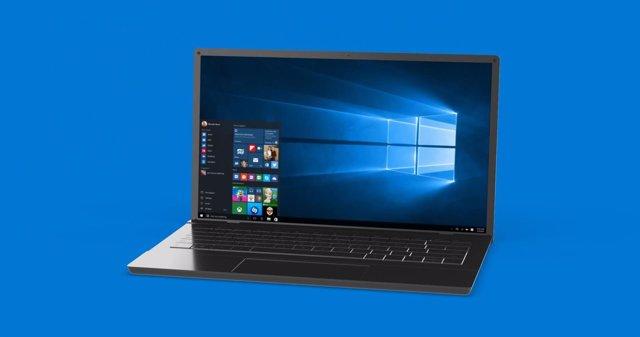 Microsoft Windows 10 escritorio