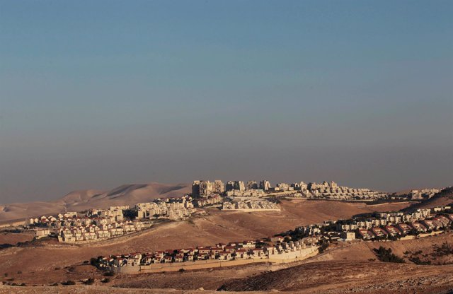 Asentamiento israelí de Maale Adumim, en Cisjordania