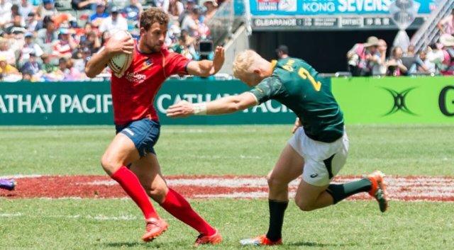 Selección española masculina de Seven rugby España Sudáfrica