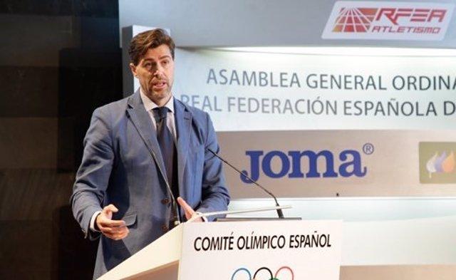 Raúl Chapado Real Federación Española Atletismo RFEA Asamblea